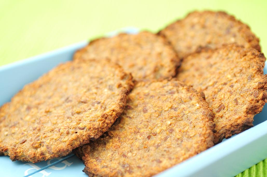 Havermoutkoekjes met banaan - gezonde snack-Voedzaam & Snel Havermoutkoekjes