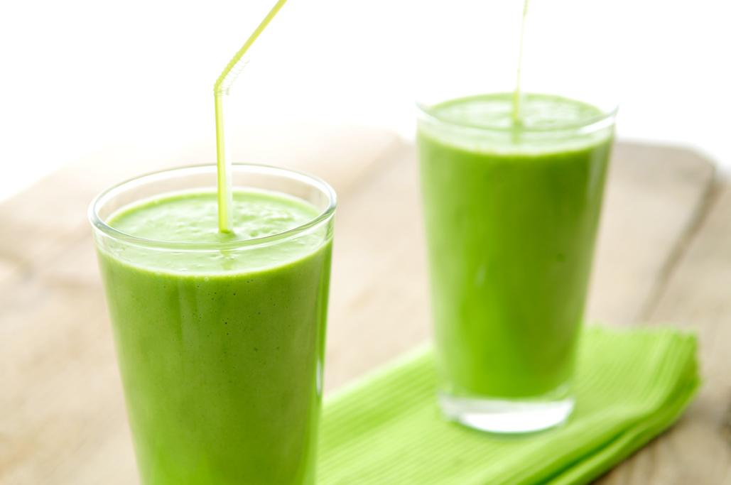 recept groene smoothie spinazie banaan