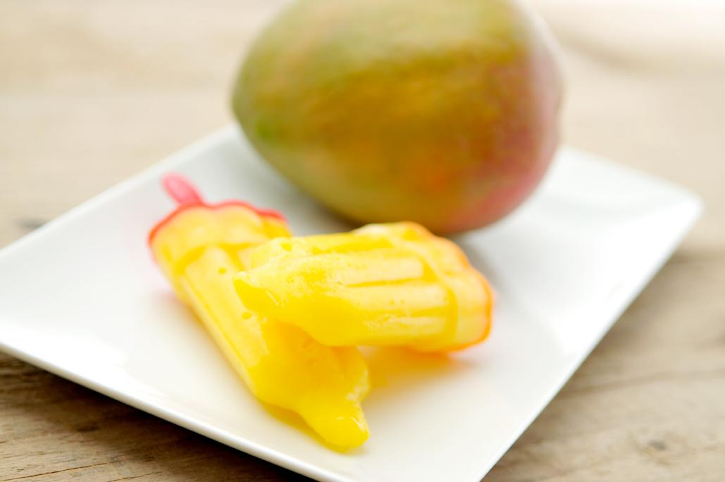 Mango ijs zelf maken