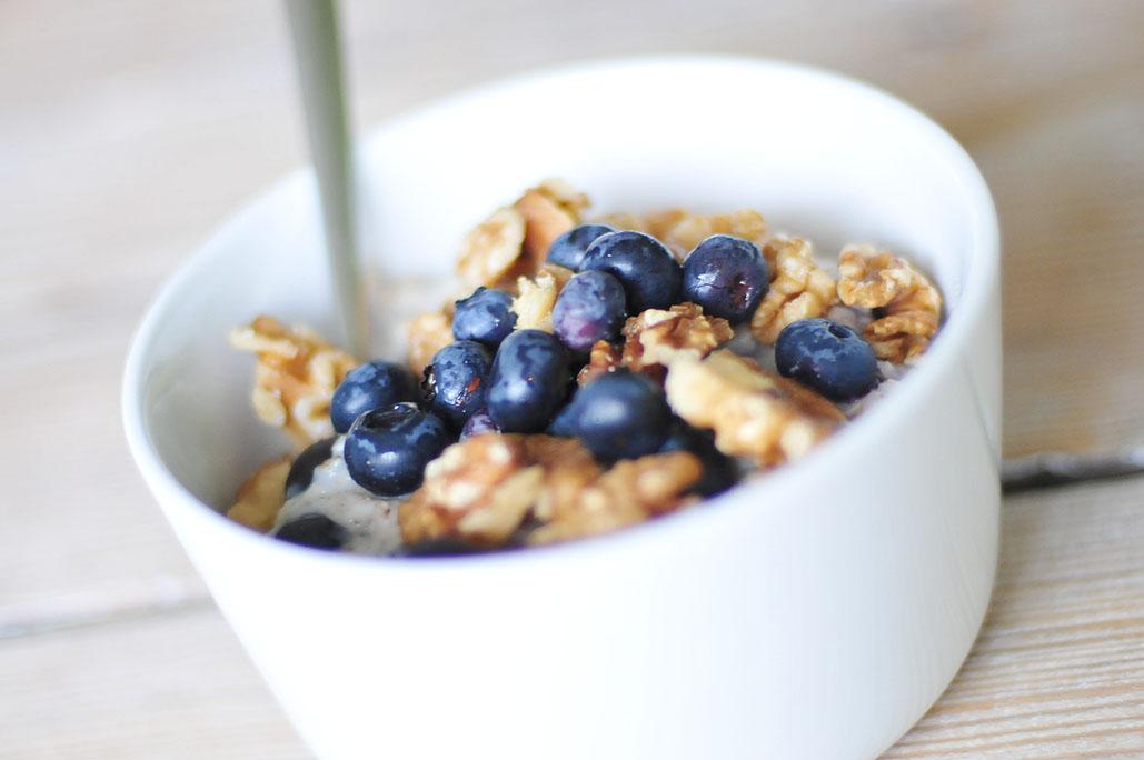 koolhydraatarm ontbijt havermout