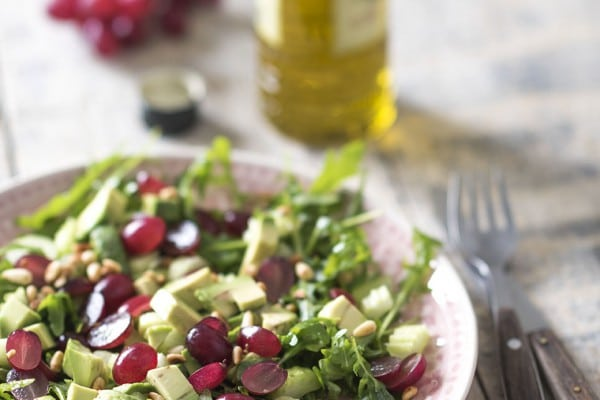 Salade-met-blauwe-druiven