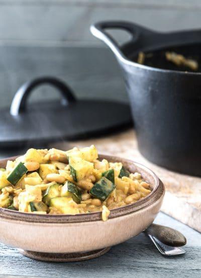 Eenpans curry recept