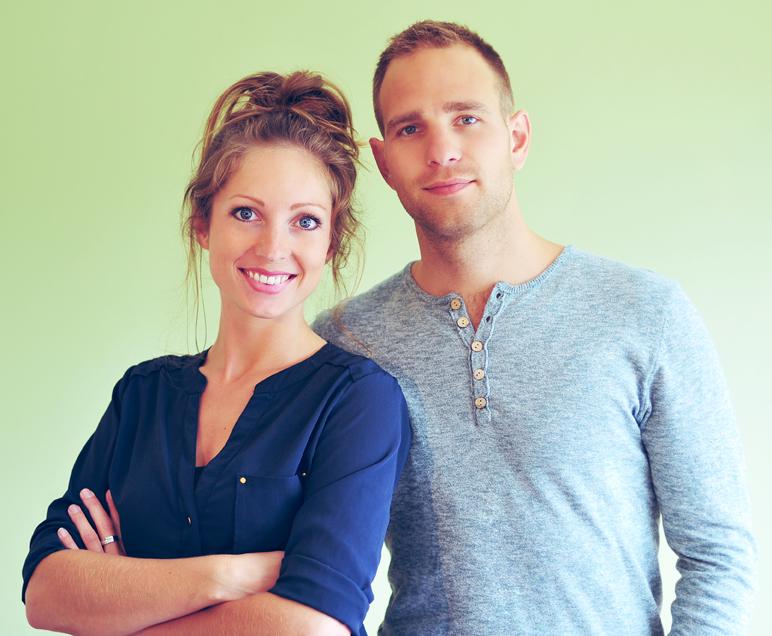 Jennifer en Sven