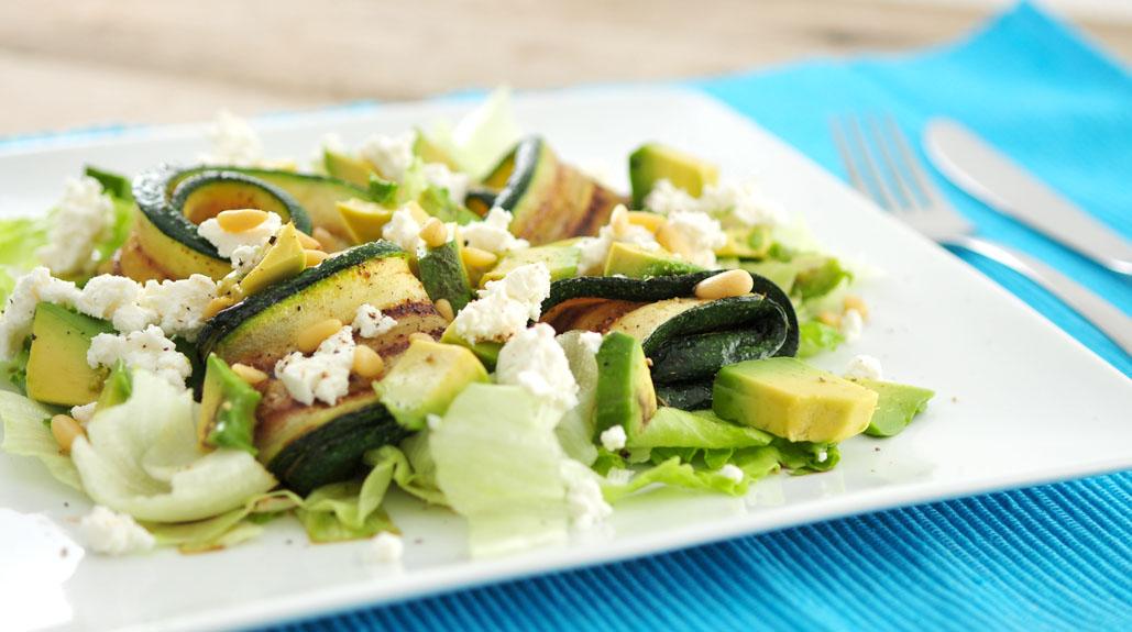 Salade-gegrilde-courgette-avocado