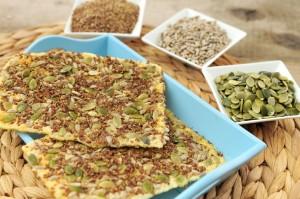 cracker van zaden en pitten