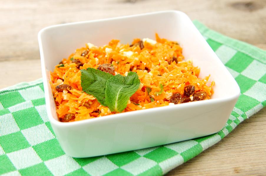 wortelsalade-munt