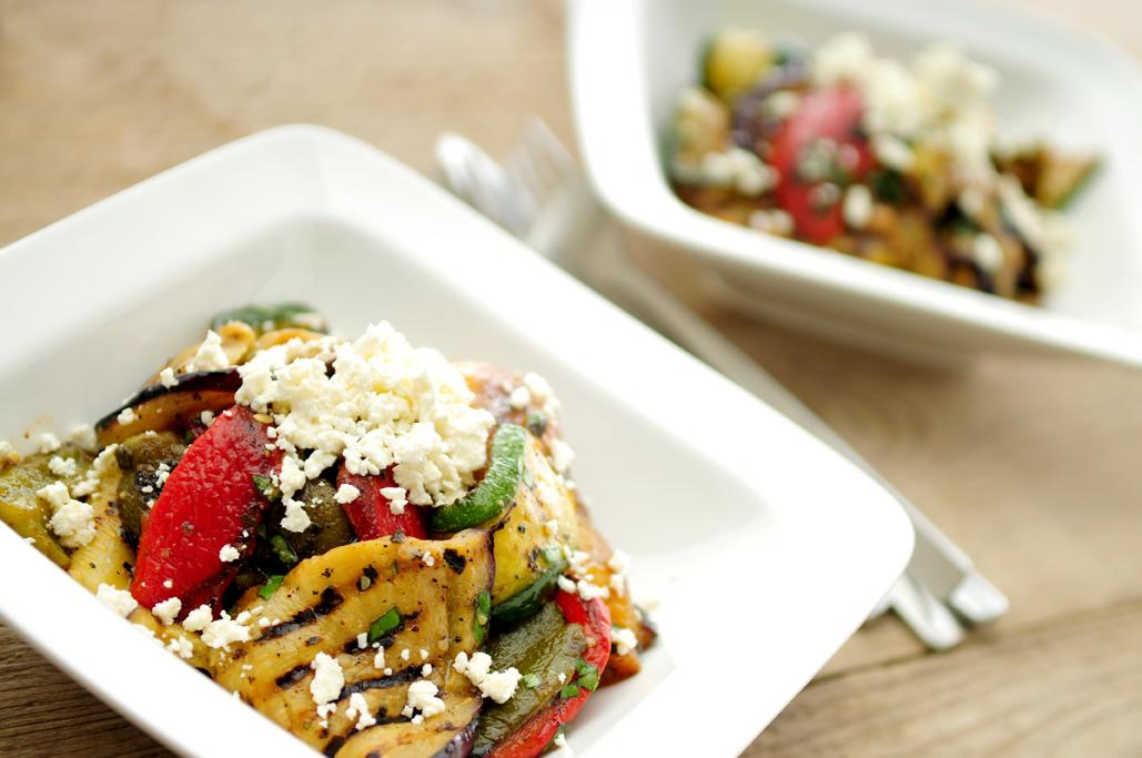 vegetarische-maaltijdsalade-gegrilde-groenten