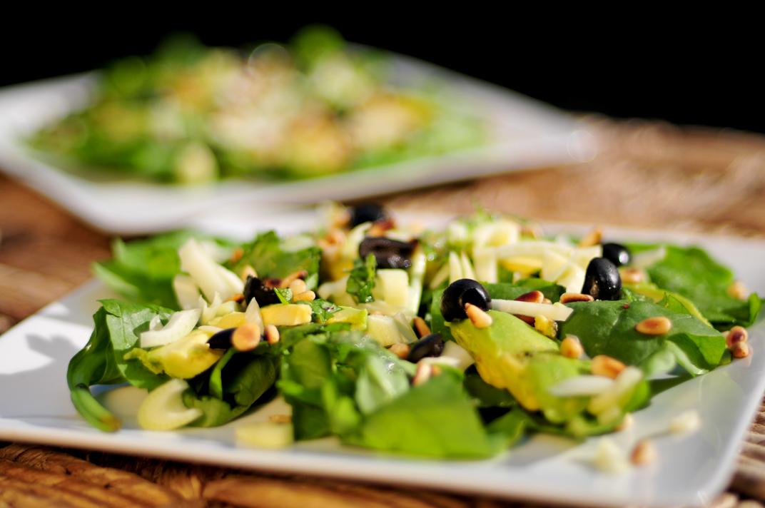 spinazie-salade-venkel