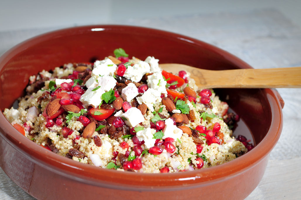 Salade van quinoa