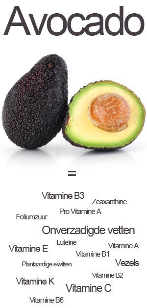 Avocado recept