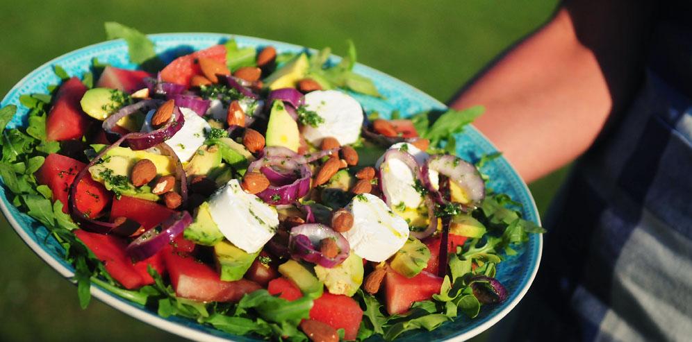 zomers recept vegetarisch