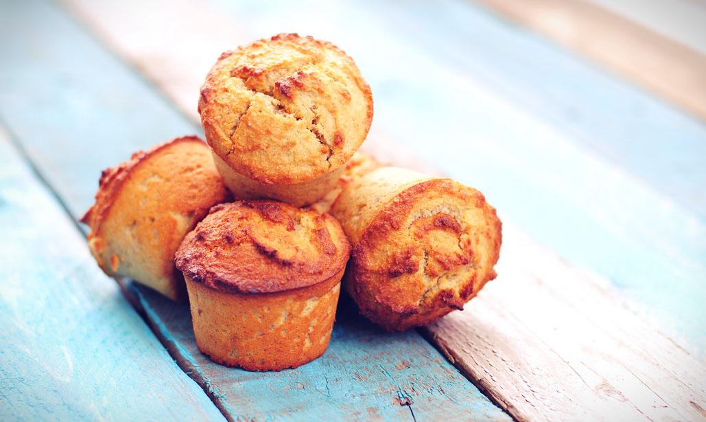 Gember muffins | Muffins van amandelmeel