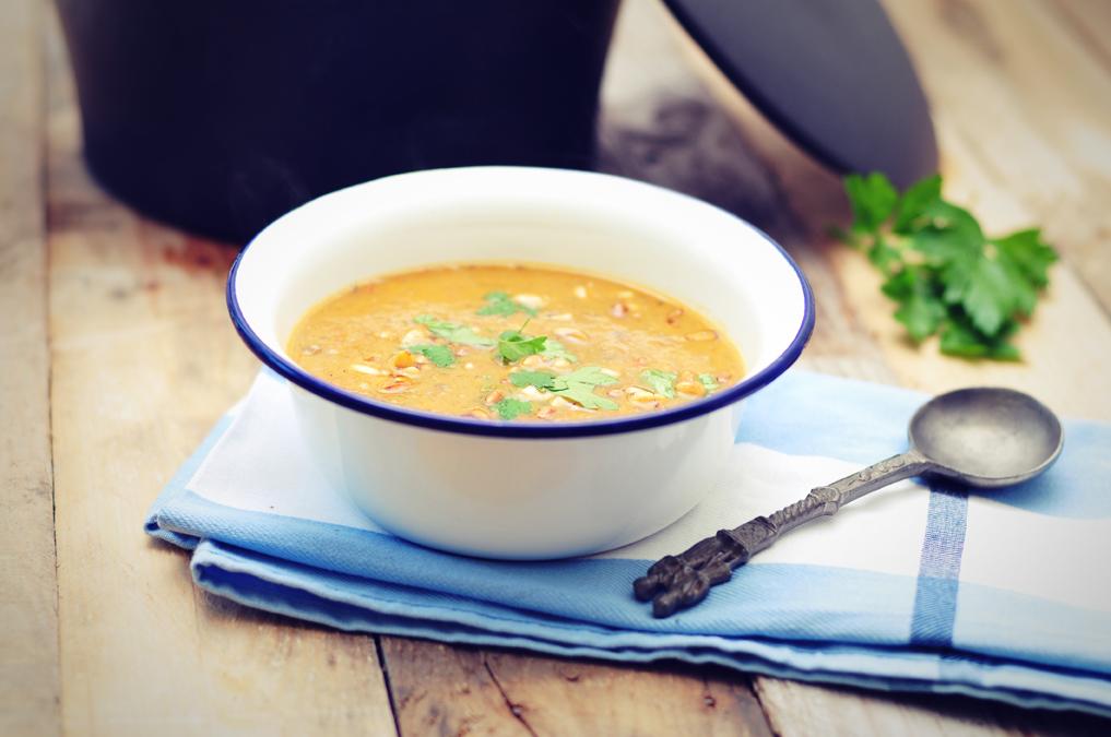 Aubergine soep