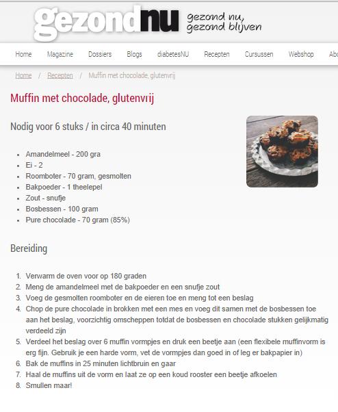 muffins recept gezondNU