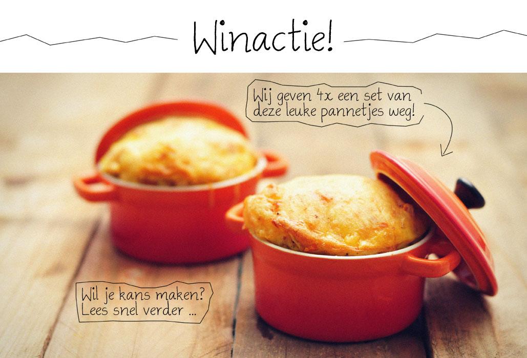 Quiche met zoete aardappel in mini pannetjes