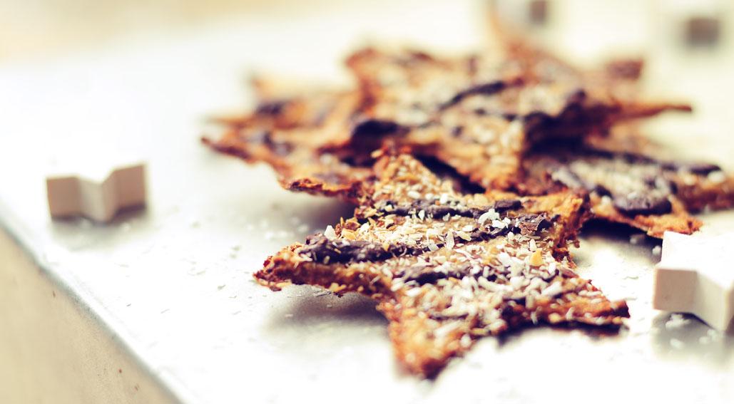 Healthy Crispy Christmas Cookies