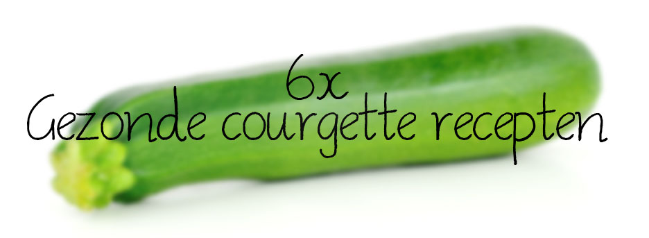 Courgette recept