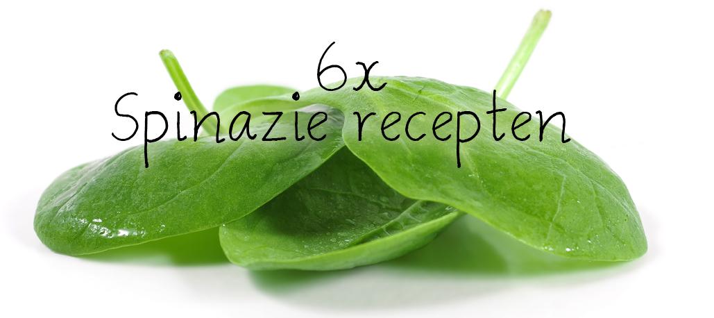 6x spinazie recept