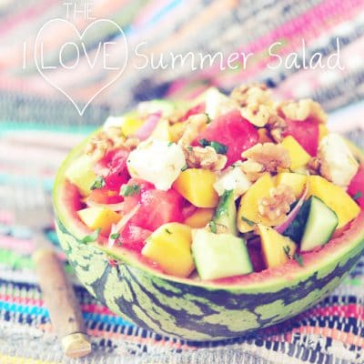 i love summer salad