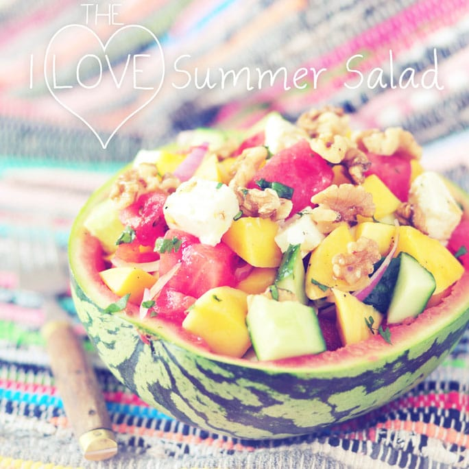 i love summer salad