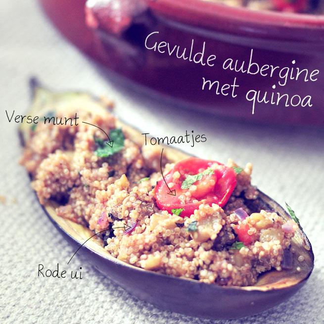 gevulde aubergine