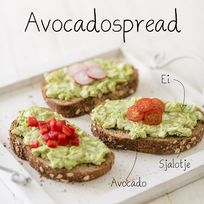 Ei Avocado Spread Voedzaam Snel