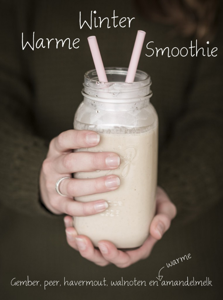 Warme winter smoothie