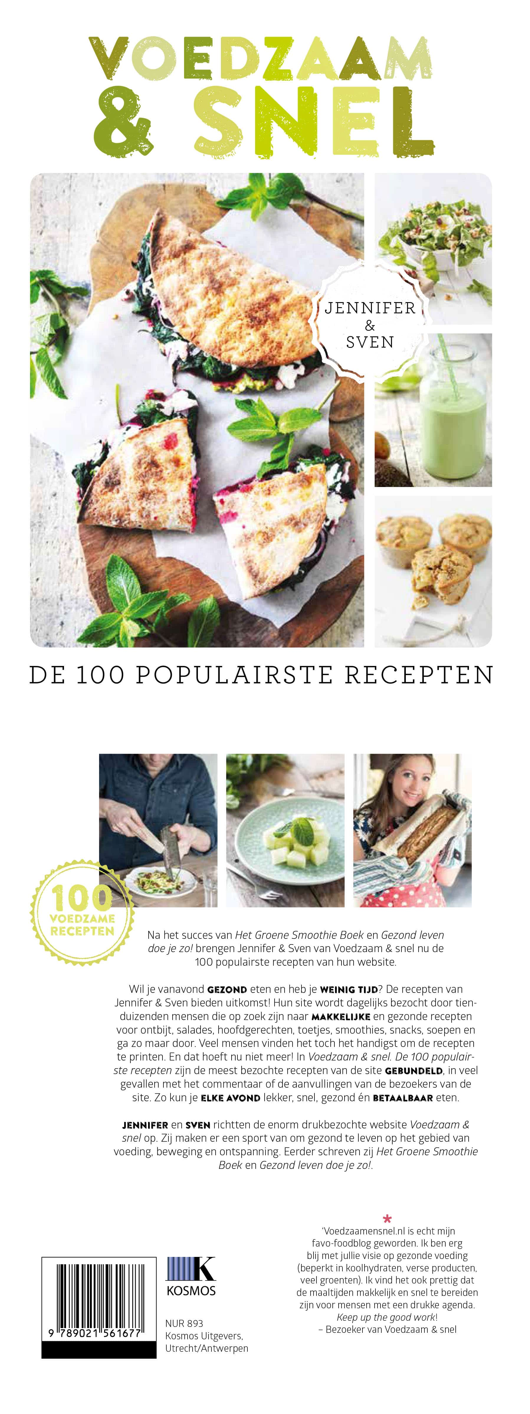 Omslag de 100 populairste recepten
