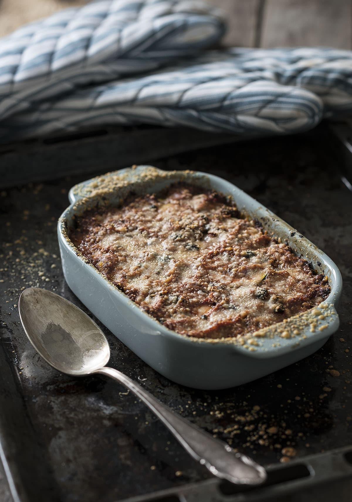 Lasagne van tonijn
