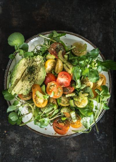 Waterkers salade