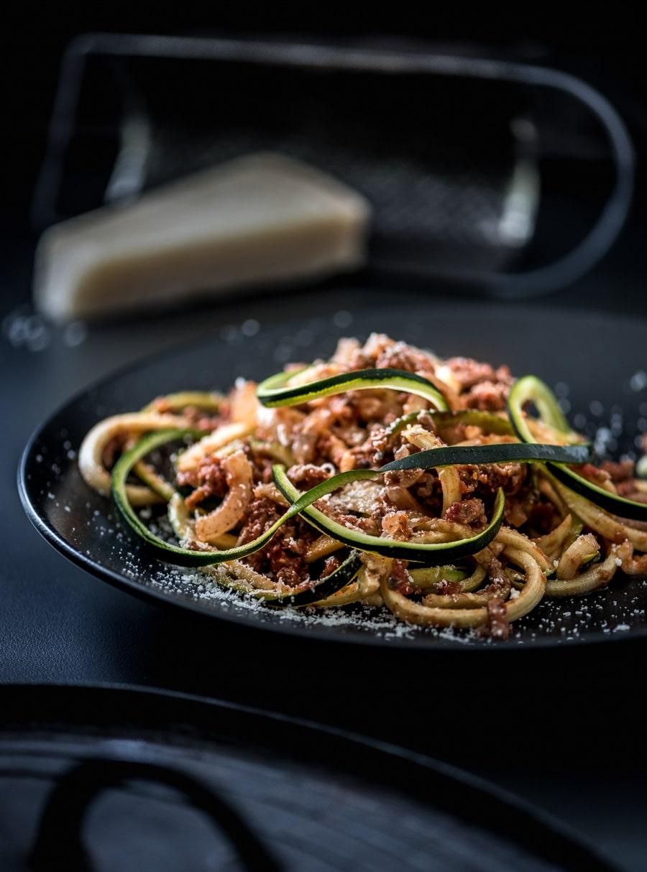 Pasta van groente spaghetti