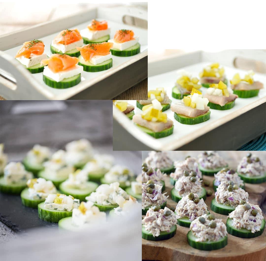 Voorkeur 25x Party snacks-Voedzaam & Snel &YW83