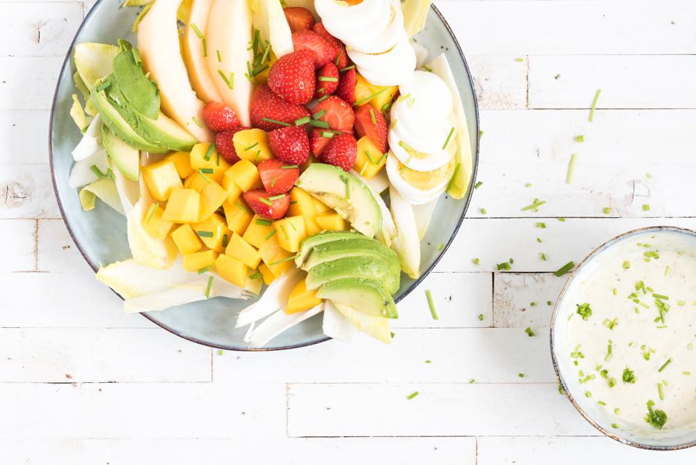 Zomerse witlofsalade fruit
