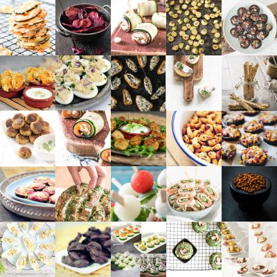 25 party snacks