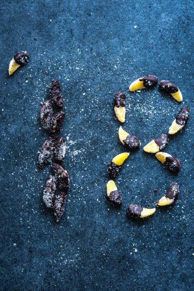 mandarijntjes met chocodip NYE snack