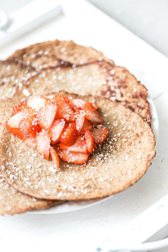 Wonderbaar Ontbijt pannenkoeken recept-Voedzaam & Snel NA-86
