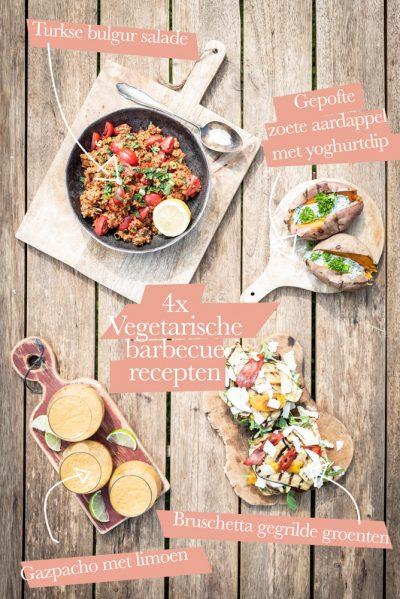 4x vegetarische barbecue recepten
