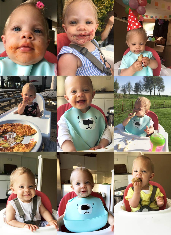 Gezond eten met een baby