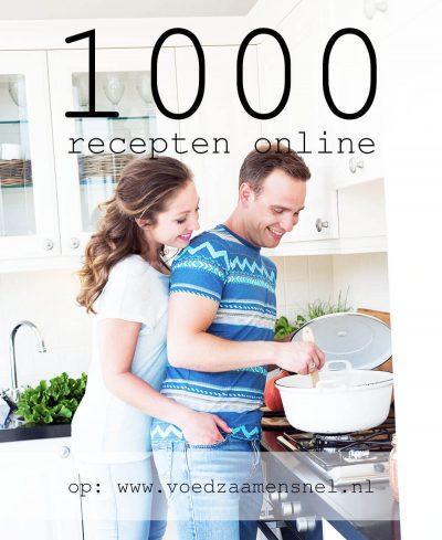 foto van jennifer en sven in de keuken die een recept maken