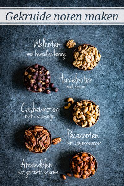 maak je eigen gekruide noten met onze 5 recepten