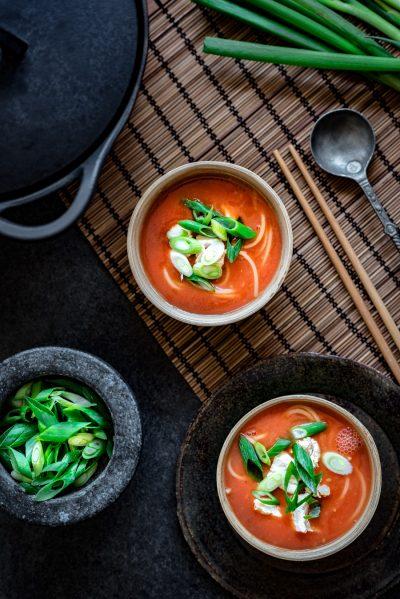 echte chinese tomatensoep