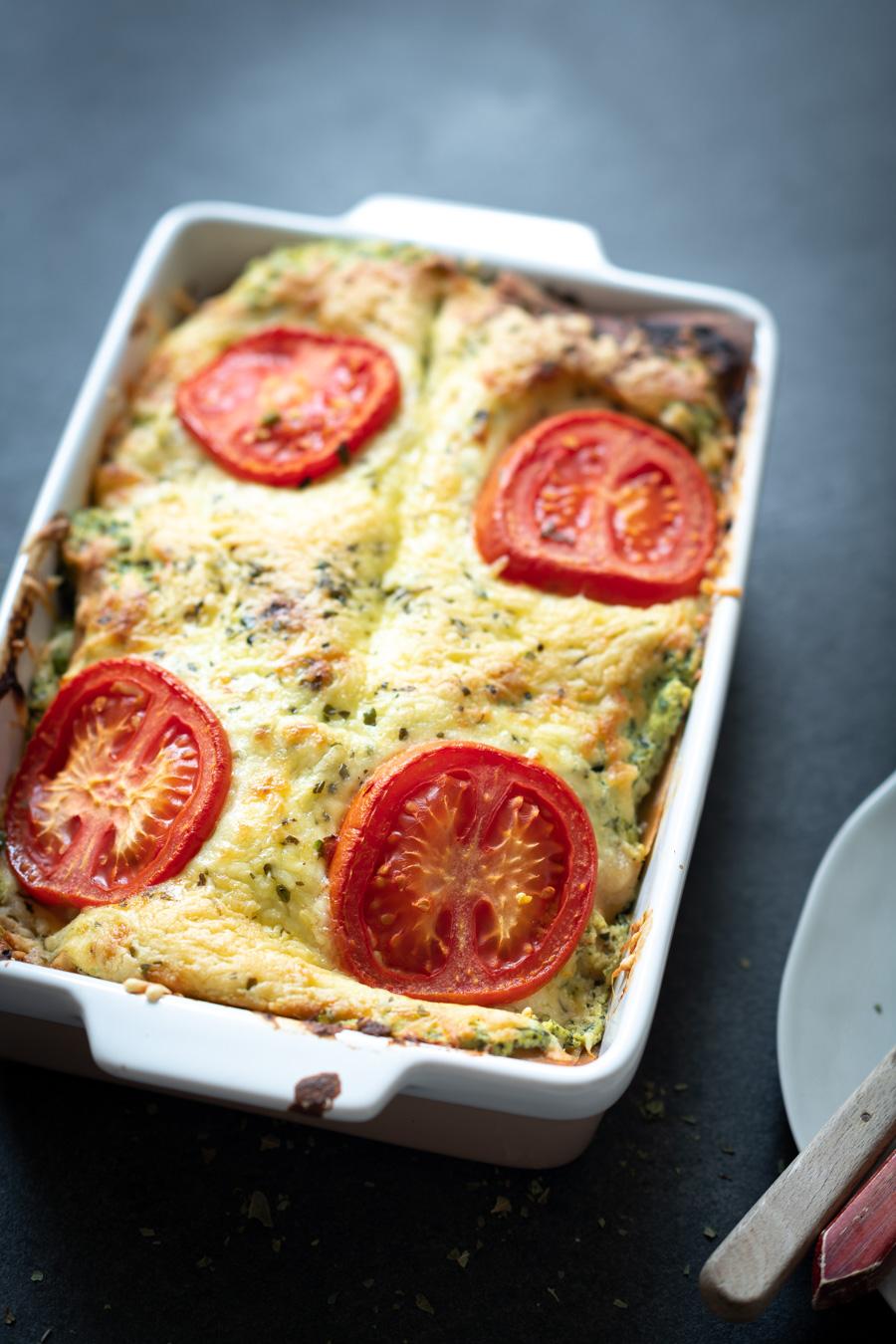Vegetarische lasagne recept