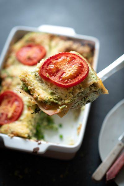 Vegetarische lasagne maken
