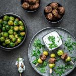 tapas recept met gehaktballetjes en spruiten