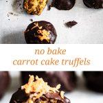 carrot cake truffels pinterest