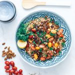 simpele vegan couscous salade
