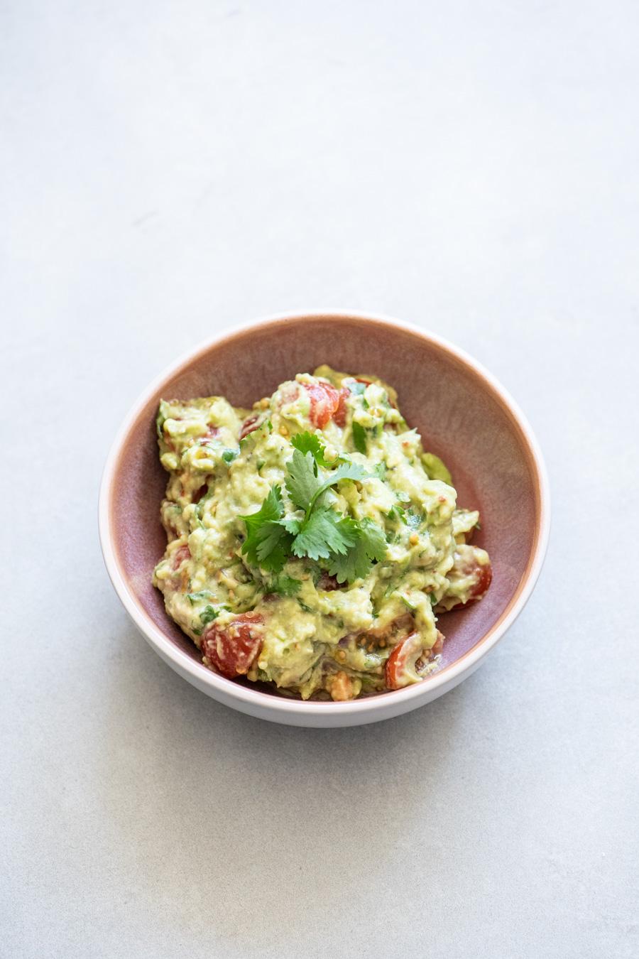 guacamole zonder ui en knoflook