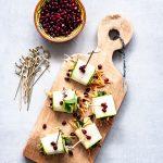 courgette rolletjes met hummus en munt   vegan party snack