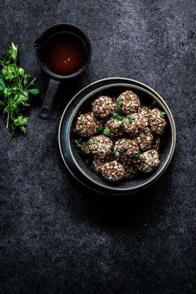 vegan gehaktballetjes