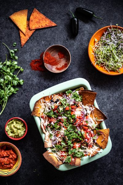 vegan nacho's ovenschotel